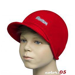 Čepice SOFTSHELL-červená